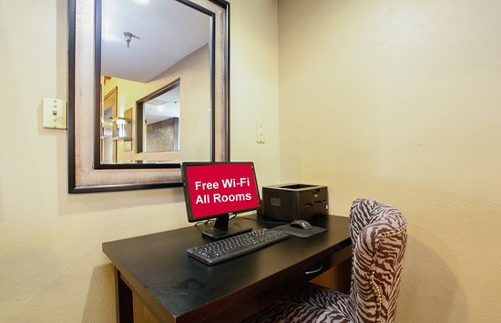 Red Roof Inn Ontario Airport : Business Center