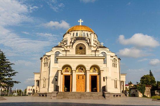 Poti, Georgië: Кафедральный Собор в Поти