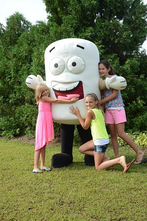 Lake George RV Park: Meet our loveable mascot Toasty!