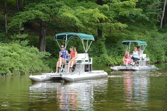 Lake George RV Park : New fleet of paddle boats
