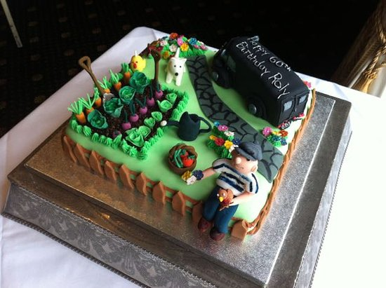 Burnham, UK: Special 60th Birthday cake.