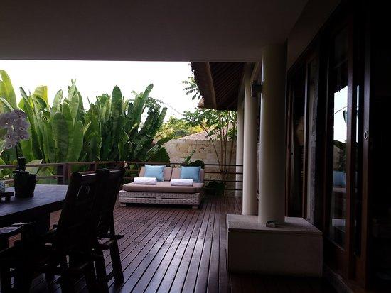The Purist Villas and Spa: terrasse