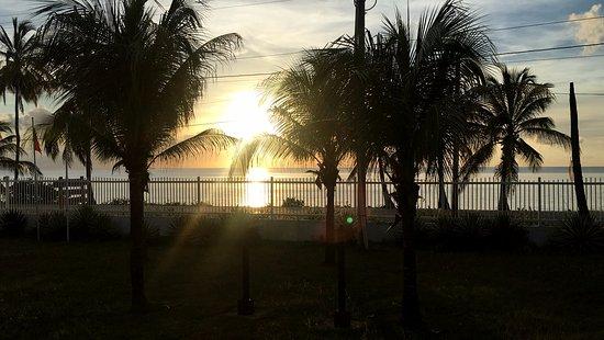 Playa Tranquilo: Tramonto dalla mia stanza