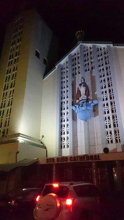Sto. Nino Cathedral: Sto Nino Cathedral at night