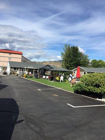 Valley Star Motel: Common area