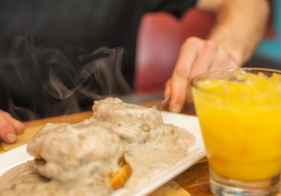 Keystone, Κολοράντο: Our famous Porky's Plate a.k.a. Biscuits & Gravy