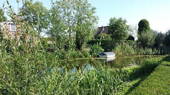 Vlist, Niederlande: Prachtig riviertje tussen Haastrecht en Schoonhoven. Heerlijk fietsen wandelen langs het water v