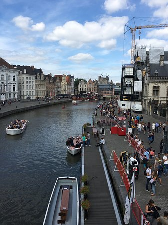 Holiday Inn Gent Expo: Gent city centre view