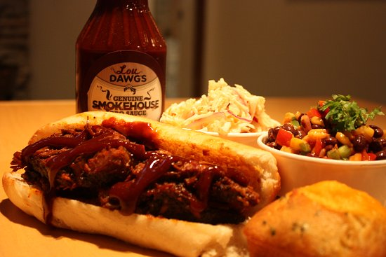Photo of Bar Lou Dawg's Southern BBQ at 76 Gerrard St E, Toronto M5B 1G6, Canada