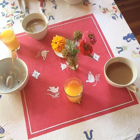North Haven, Мэн: breakfast table
