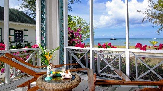 New Castle, Nevis: Cottage veranda