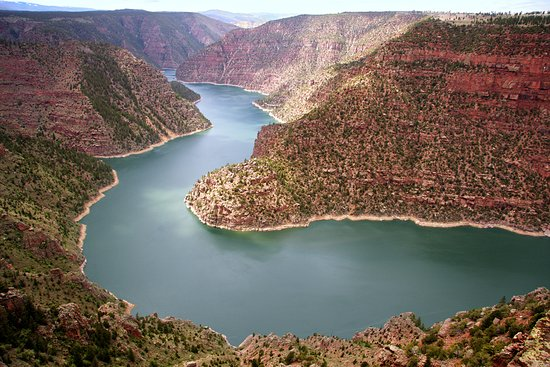 Manila, UT: Beautiful Flaming Gorge