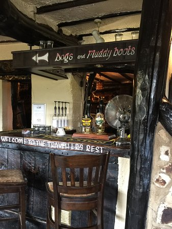 The Travellers Rest Pub & Restaurant: A friendly atmosphere.
