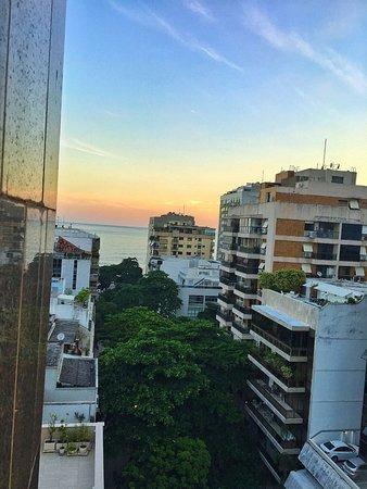 Mar Ipanema Hotel: Vista da Janela do quarto