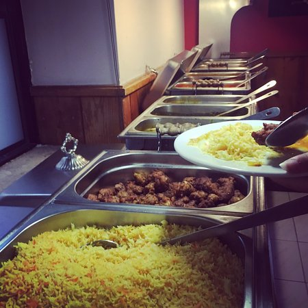 Excellent buffet on wednesday evenings