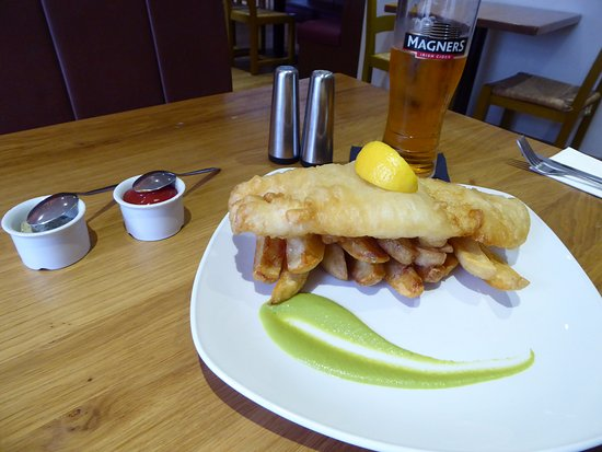 The Braes: Fish and chips