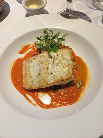 Kilberry Inn: The delicious halibut