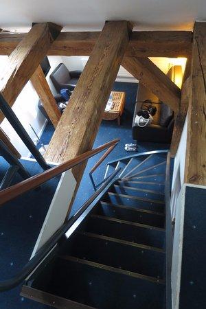 Copenhagen Admiral Hotel: Photo in the loft suite