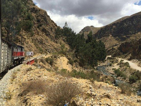 Huancavelica, Peru: Prachtige treinreis!