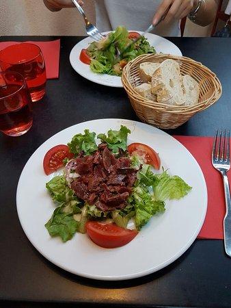 la maison du cassoulet salade de g siers picture of la maison du cassoulet