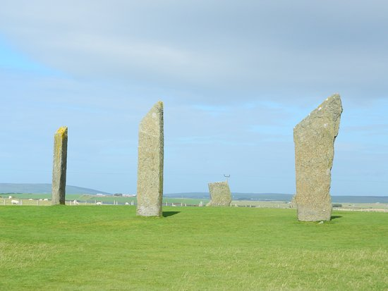 Stenness, UK: Great Stones