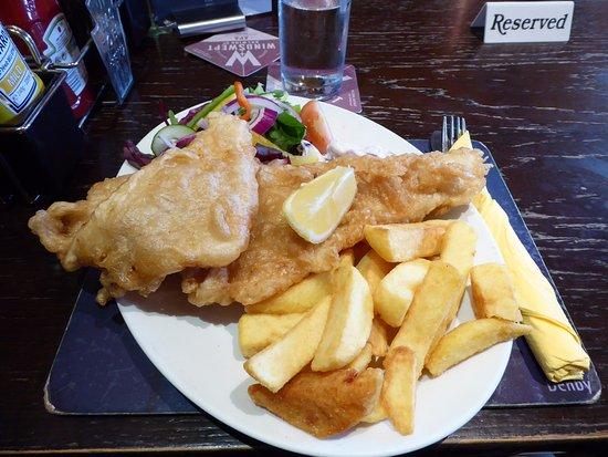 The Glen Hotel Restaurant: Fillet of Haddock