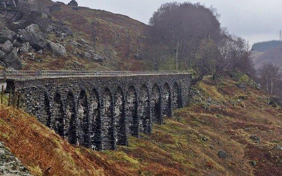 Lochearnhead, UK: Glen Ogle, il viadotto