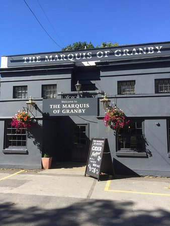 Marquis Of Granby: Entrance