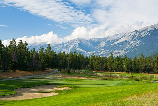 Jasper Park Golf Course: Hole #2, Old Man