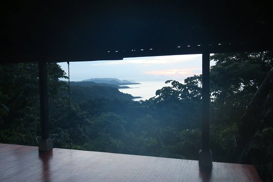 Anamaya Resort & Retreat Center: Upper Yoga deck at sunrise