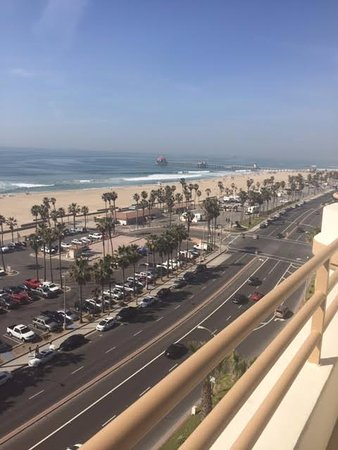 PCH/Beach view from balcony    - Picture of The Waterfront Beach