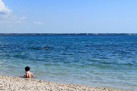 Vir, Kroatien: Spiaggia