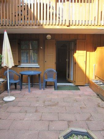 Drachselsried, Germany: Zimmer mit Terrasse