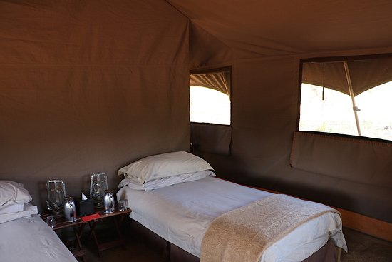 andBeyond Chobe Under Canvas: Great beds & all you need, glamping