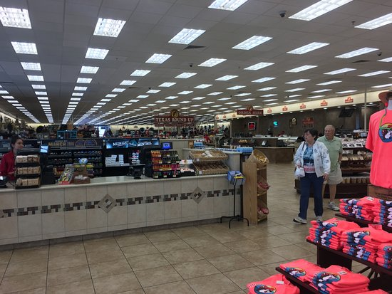 Buc-ee's: This is only one half of the store...