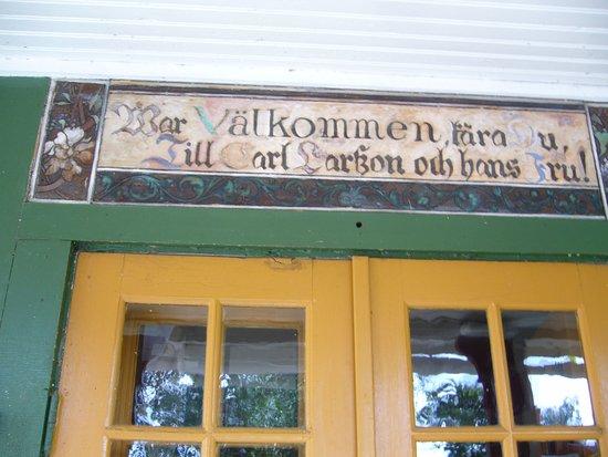 Falun, السويد: Ingången till huset
