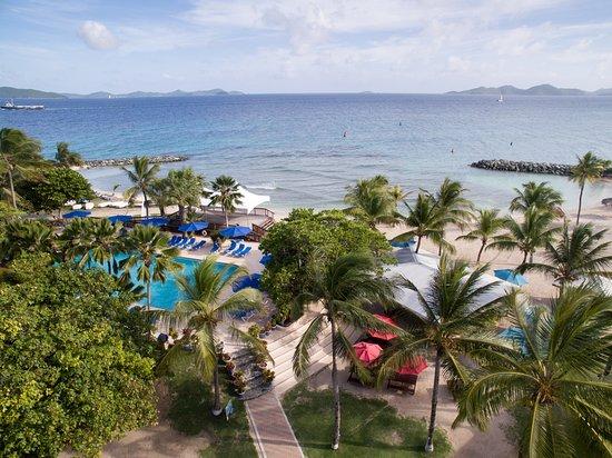 Nanny Cay Marina & Hotel: Waterfront hotel