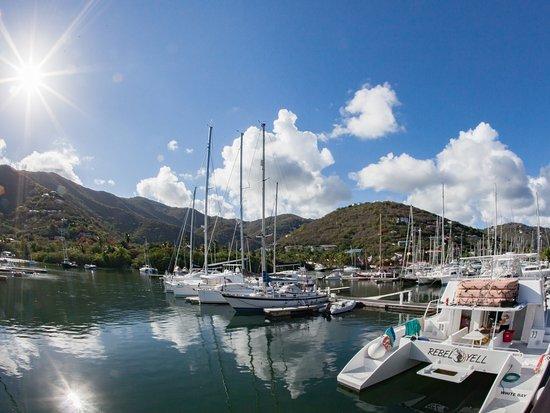 Nanny Cay Marina & Hotel: Calm marina