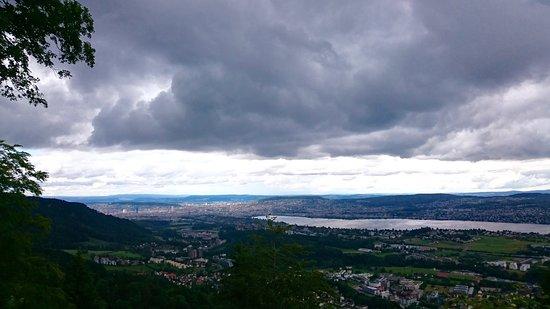 Adliswil, Swiss: Aussicht von der Felsenegg