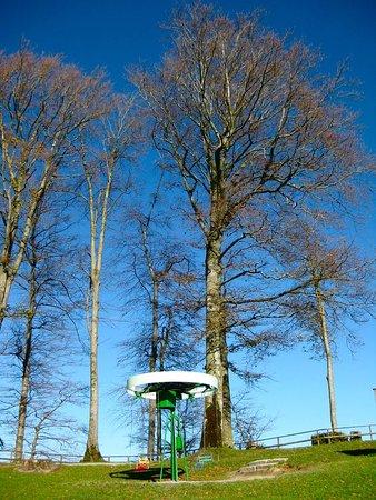 Adliswil, Swiss: Kinderspielplatz auf der Felsenegg