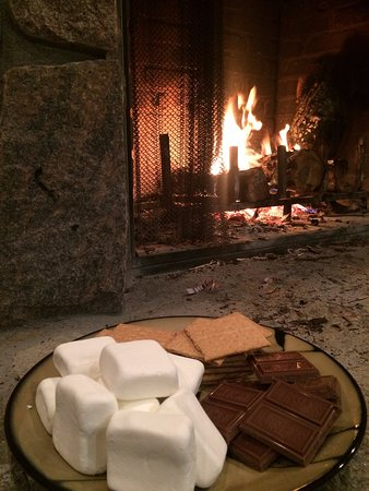 Evart, MI: Outdoor fire and smores