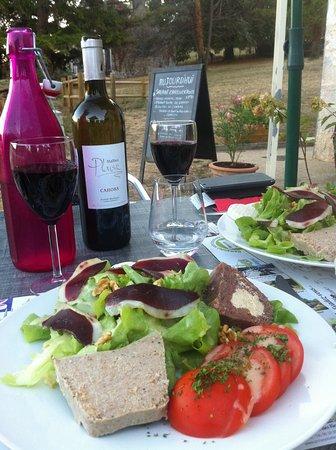 Carlucet, France : Salade du chef