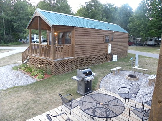 Traverse City KOA : Our outdoor area