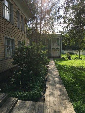 Samarin's House Museum: как старинные деревянные мостовые в Вологде