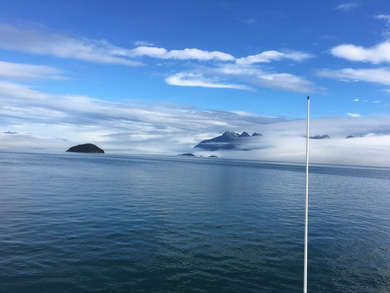 Gustavus, AK : Boulder Island, South and North Marble Islands and Tlingit Point from the Boat