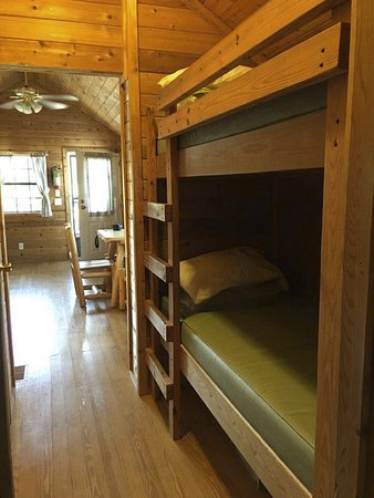 Buckley, MI: bunk beds and living area