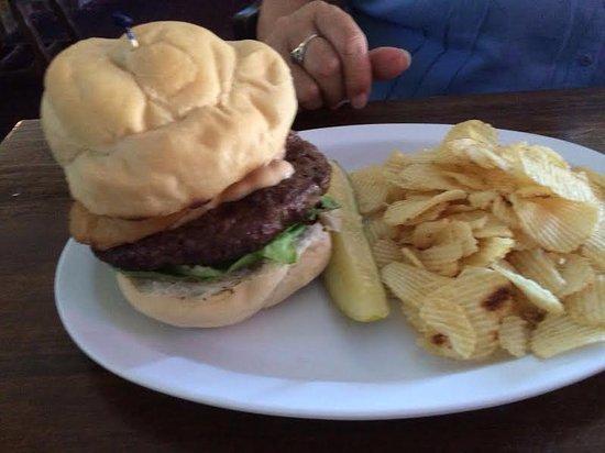 Endwell, NY: Southwestern burger