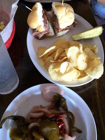Endwell, NY: steak sandwich