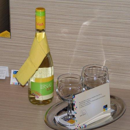 Bo18 Hotel Superior: Petite attention à notre arrivée !!!! Gratuite !!!