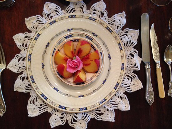 Compass Rose Bed and Breakfast: Just one part of breakfast